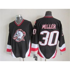 Buffalo Sabres #30 Ryan Miller Black CCM Throwback Stitched NHL Jersey