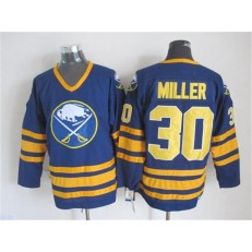 Buffalo Sabres #30 Ryan Miller Navy Blue CCM Throwback Stitched NHL Jersey