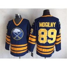 Buffalo Sabres #89 Alexander Mogilny Navy Blue CCM Throwback Stitched NHL Jersey
