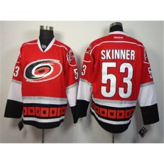 Carolina Hurricanes #53 Jeff Skinner Red Third Hockey Stitched NHL Jersey
