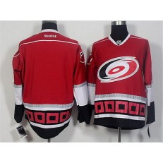 Carolina Hurricanes Blank Red Third Hockey Stitched NHL Jersey
