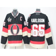 Ottawa Senators 25 Chris Neil Black 2014 Heritage Classic Stitched NHL Jersey