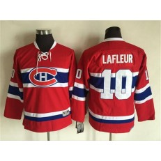 Montreal Canadiens #10 Guy Lafleur CH CCM Throwback Youth NHL Jersey