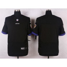 Baltimore Ravens Blank Elite Black Alternate Nike NFL Jersey