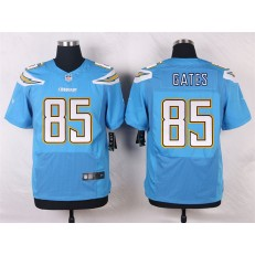 San Diego Chargers #85 Antonio Gates Elite Electric Blue Men Nike NFL Jersey