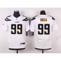 San Diego Chargers #99 Joey Bosa Elite White Men Nike NFL Jersey