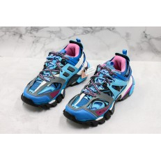 BALENCIAGA TRACK TRAINERS 3.0 BLUE PINK